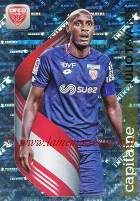 2018-19 - Panini Ligue 1 Stickers - N° 122 - Julio TAVARES (Dijon) Capitaine)