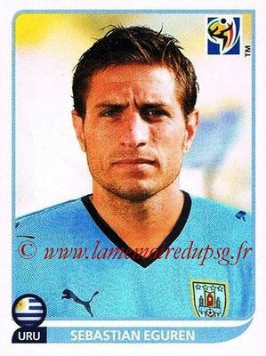 2010 - Panini FIFA World Cup South Africa Stickers - N° 079 - Sebastian EGUREN (Uruguay)