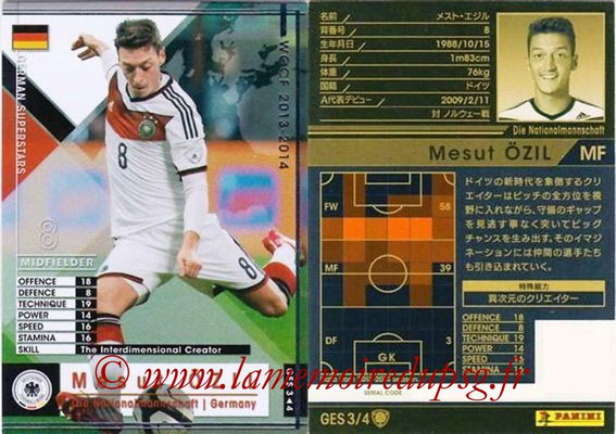 2013-14 - WCCF - N° GES3 - Mesut ÖZIL (Allemagne) (German Superstars)