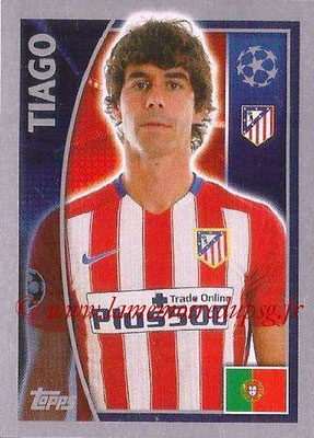 2015-16 - Topps UEFA Champions League Stickers - N° 183 - TIAGO (Club Atlético de Madrid)