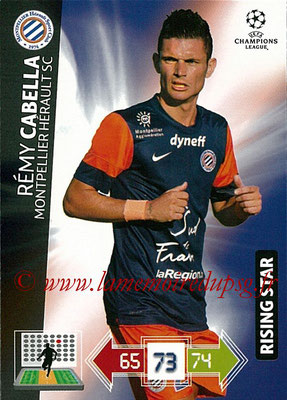 2012-13 - Adrenalyn XL champions League N° 168 - Rémy CABELLA (Montpellier HSC) (Rising Star)
