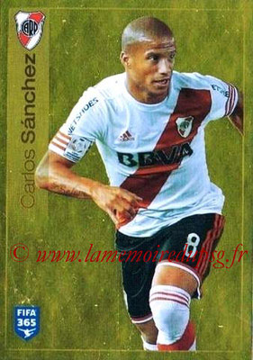 2015-16 - Panini FIFA 365 Stickers - N° 119 - Carlos SANCHEZ (River Plate)