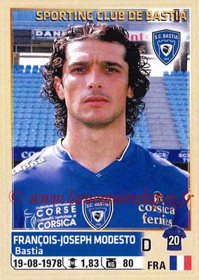 2014-15 - Panini Ligue 1 Stickers - N° 007 - Francois-Joseph MODESTO (SC Bastia)