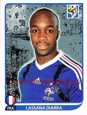 2010 - Panini FIFA World Cup South Africa Stickers - N° 095 - Lassana DIARRA (France)