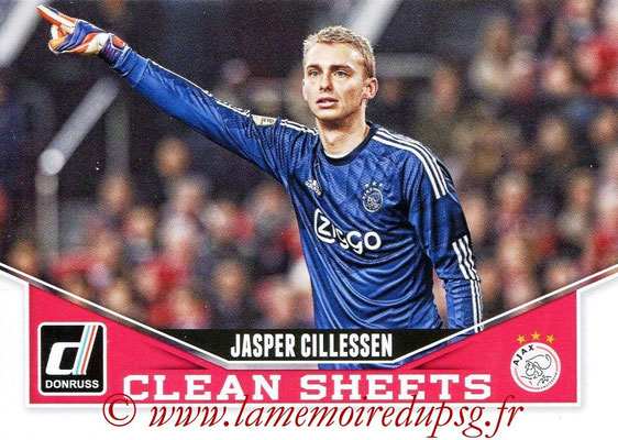 2015 - Panini Donruss Soccer - N° CS06 - Jasper CILLESSEN (AFC Ajax) (Clean Sheets)