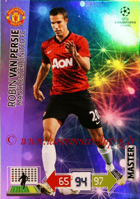 2012-13 - Adrenalyn XL champions League N° 337 - Robin VAN PERSIE (Manchester United FC) (Master)