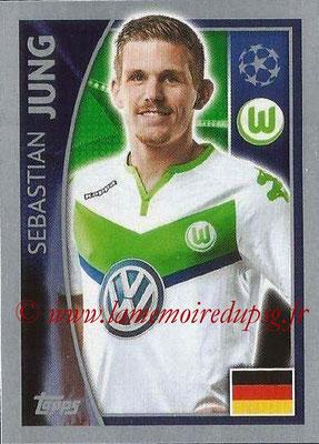 2015-16 - Topps UEFA Champions League Stickers - N° 136 - Sebastian JUNG (VFL Wolfsburg)