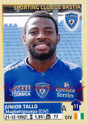 2014-15 - Panini Ligue 1 Stickers - N° 022 - Junior TALLO (SC Bastia)
