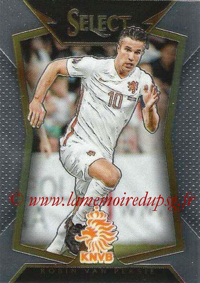 2015 - Panini Select Soccer - N° 100 - Robin VAN PERSIE (Pays Bas)