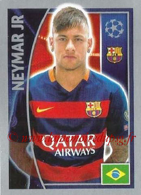 2015-16 - Topps UEFA Champions League Stickers - N° 316 - NEYMAR JR (FC Barcelone)