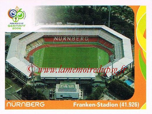 2006 - Panini FIFA World Cup Germany Stickers - N° 014 - Nürnberg - Franken-Stadion