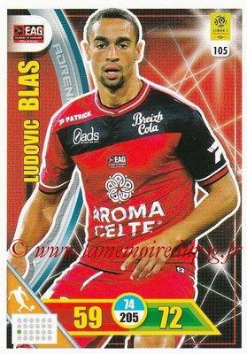 2017-18 - Panini Adrenalyn XL Ligue 1 - N° 105 - Ludovic BLAS (Guingamp)