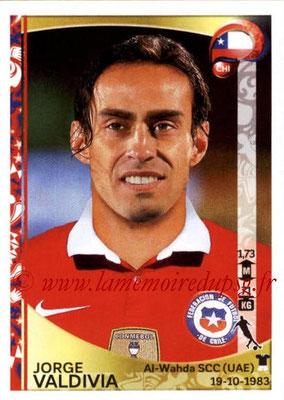 Panini Copa America Centenario USA 2016 Stickers - N° 343 - Jorge VALDIVIA (Chili)