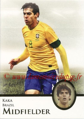 2013 - Futera World Football Unique - N° 043 - KAKA (Brésil) (Midfielder)