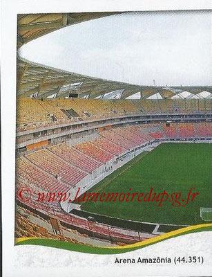 2014 - Panini FIFA World Cup Brazil Stickers - N° 018 - Arena Amazonia - Manaus (1)