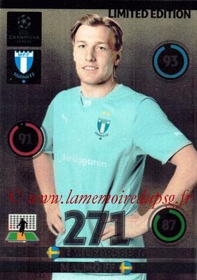 2014-15 - Adrenalyn XL champions League N° LE-EF - Emil FORSBERG (Malmo FF) (Limited Edition)