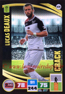 2016-17 - Panini Adrenalyn XL Ligue 1 - N° 439 - Lucas DEAUX (Guingamp) (Crack)