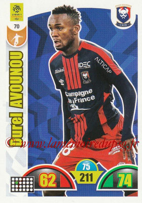 2018-19 - Panini Adrenalyn XL Ligue 1 - N° 070 - Durel AVOUNOU (Caen)