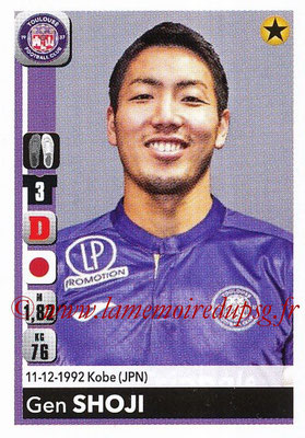 2018-19 - Panini Ligue 1 Stickers - N° T41 - Gen SHOJI (Strasbourg) (Transfert)
