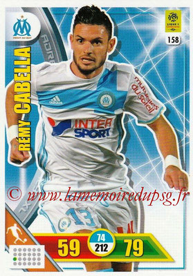 2017-18 - Panini Adrenalyn XL Ligue 1 - N° 158 - Rémy CABELLA (Marseille)