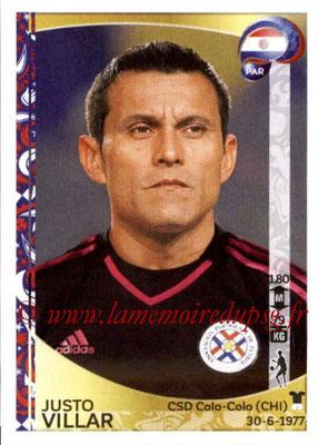 Panini Copa America Centenario USA 2016 Stickers - N° 090 - Justo VILLAR (Paraguay)