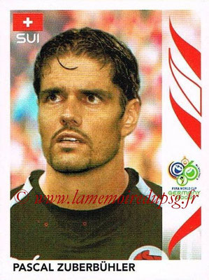 2006 - Panini FIFA World Cup Germany Stickers - N° 475 - Pascal ZUBERBÜHLER (Suisse)