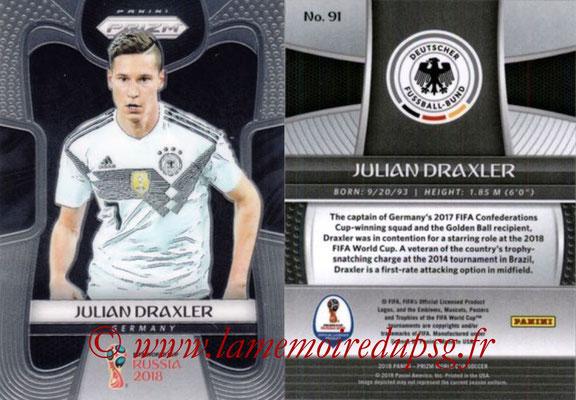 N° 091 - Julian DRAXLER (Janv 2017-??, PSG > 2018, Allemagne)