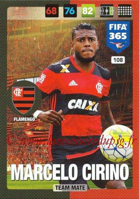 2016-17 - Panini Adrenalyn XL FIFA 365 - N° 108 - Marcelo CIRINO (Flamengo)