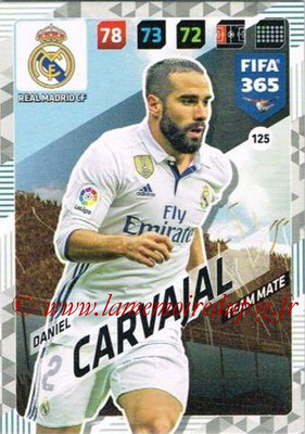 2017-18 - Panini FIFA 365 Cards - N° 125 - Daniel CARVAJAL (Real Madrid CF)