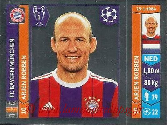 2014-15 - Panini Champions League N° 352 - Arjen ROBBEN (FC Bayern Munich)