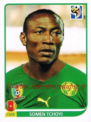 2010 - Panini FIFA World Cup South Africa Stickers - N° 406 - Somen TCHYI (Cameroun)
