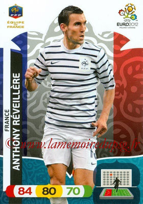 Panini Euro 2012 Cards Adrenalyn XL - N° 079 - Anthony REVEILLERE (France)