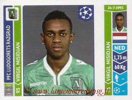 2014-15 - Panini Champions League N° 170 - Virgil MISIDJAN (Ludogorets Razgrad)