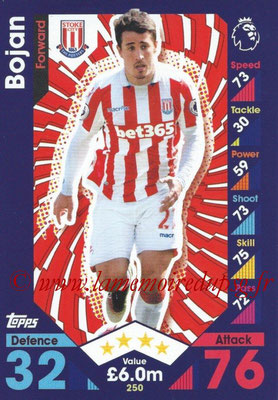 2016-17 - Topps Match Attax Premier League - N° 250