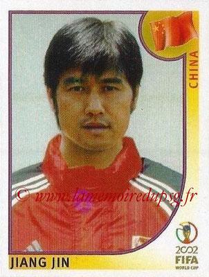 2002 - Panini FIFA World Cup Stickers - N° 207 - Jiang JIN (Chine)
