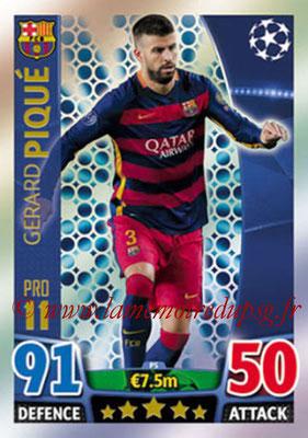 2015-16 - Topps UEFA Champions League Match Attax - N° P05 - Gerard PIQUÉ (FC Barcelone) (Pro 11)