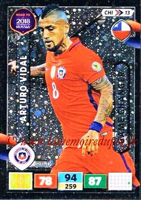 2018 - Panini Road to FIFA World Cup Russia Adrenalyn XL - N° CHI13 - Arturo VIDAL (Chili) (Game Changer)