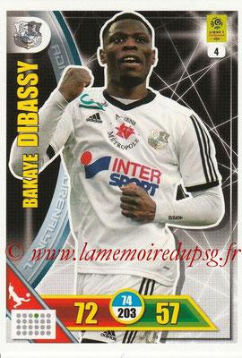 2017-18 - Panini Adrenalyn XL Ligue 1 - N° 004 - Bakaye DIBASSY (Amiens)