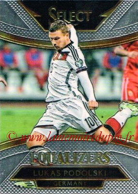 2015 - Panini Select Soccer - N° E10 - Lukas PODOLSKI (Allemagne) (Equalizers)