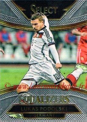 2015 - Panini Select Soccer - N° E10 - Lukas PODOLSKI (Allemagne) (Equalizers)