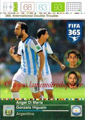 N° 366 - Angel DI MARIA (Argentine) (International Double Trouble)