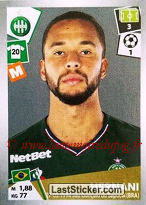 2017-18 - Panini Ligue 1 Stickers - N° 427 - HERNANI (Saint-Etienne)