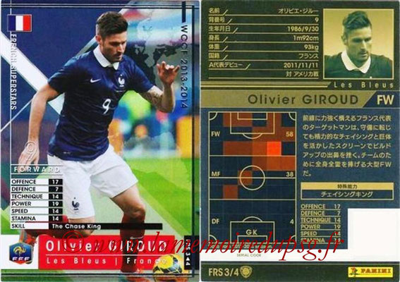 2013-14 - WCCF - N° FRS3 - Olivier GIROUD (France) (French Superstars)