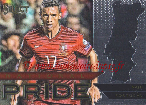 2015 - Panini Select Soccer - N° NP32 - NANI (Portugal) (National Pride)