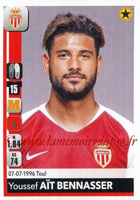 2018-19 - Panini Ligue 1 Stickers - N° 235 - Youssef AIT BENNASSER (Monaco)