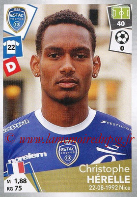 2017-18 - Panini Ligue 1 Stickers - N° 499 - Christophe HERELLE (Troyes)