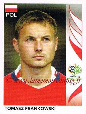 2006 - Panini FIFA World Cup Germany Stickers - N° 070 - Tomasz FRANKOWSKI (Pologne)