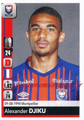 2018-19 - Panini Ligue 1 Stickers - N° 080 - Alexander DJIKU (Caen)