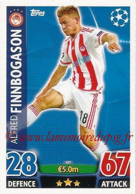 2015-16 - Topps UEFA Champions League Match Attax - N° 107 - Alfred FINNBOGASON (Olympiacos FC)
