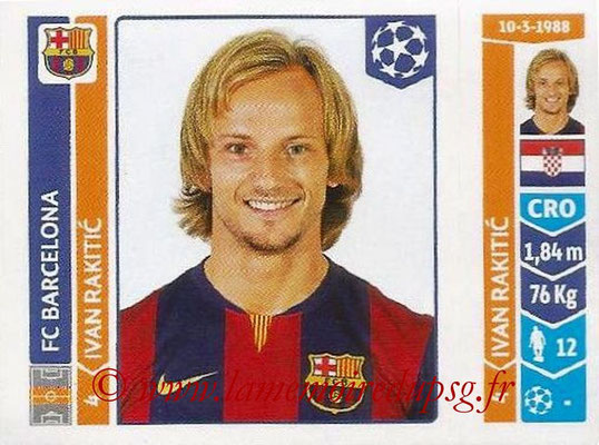 2014-15 - Panini Champions League N° 422 - Ivan RAKITIC (FC Barcelone)